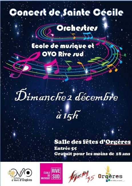 Affiche Ste Cécile 2018